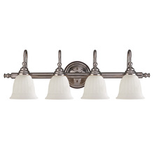 Savoy House 1062-4CH - Brunswick 4 Light Bath Bar
