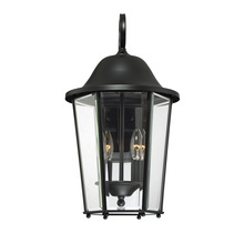 Savoy House 5-6212-BK - Truscott 2 Light Wall Lantern