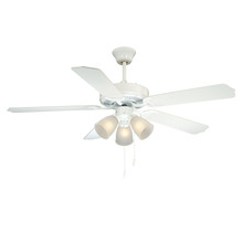 Savoy House 52-EUP-5RV-WH - First Value Ceiling Fan