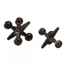 Cyan Designs 02746 - Large Antiqued Rust Jack
