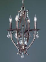 Feiss F1800/4PBR - 4- Light Single Tier Chandelier