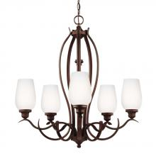 Feiss F3002/5ORBH - 5 - Light Chandelier