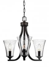 Feiss F3111/3ORB - 3 - Light Chandelier