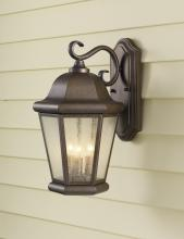 Feiss OL5902CB - 3- Light Wall Lantern