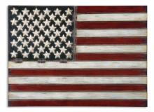 Uttermost 13480 - Uttermost American Flag Metal Wall Art
