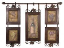 Uttermost 50791 - Uttermost Hanging Wine Framed Art