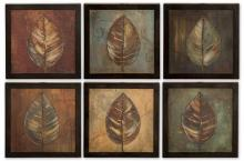Uttermost 50890 - Uttermost New Leaf Framed Panel Set/6