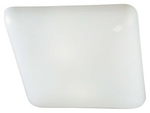 Minka-Lavery 1021-44-pl - 2 Light Kitchen Fluorescent Flush Mount