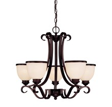 Savoy House 1-5775-5-13 - Willoughby 5 Light Chandelier