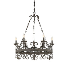 Savoy House 1-8000-6-64 - Flanders 6 Light Chandelier
