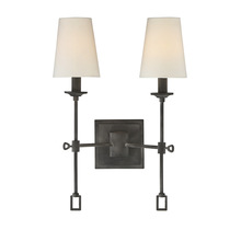 Savoy House 9-9004-2-88 - Lorainne 2 Light Sconce