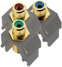 Legrand ACRGBRCAFM1 - Component Video RCA to F Kit