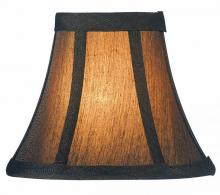 "Lite Source Inc. CH594-6 - #Candelabra Shade/Bronze - 3""Tx6""Bx5""Sh"