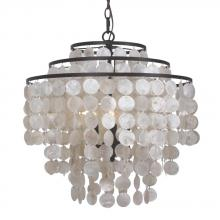 Crystorama 5003-DB - Crystorama 3 Light Dark Bronze Chandelier