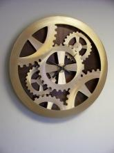 Nova MWC3902-G - Gold Gears Moving Wall Clock