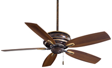 "Minka-Aire F614-MCG - Timeless 54"" - Mottled Copper with Gold Highlights"