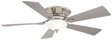 "Minka-Aire F711-PN - Delano� II - Flush Mount 52"" - Polished Nickel"