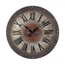 Sterling Industries 128-1005 - Metal Roman Numeral Outdoor Wall Clock