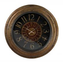 Sterling Industries 130-003 - Grand Hotel Paris Large Clock Wth Distressed Handpainted Frame