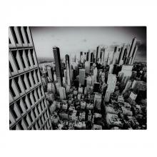 Sterling Industries 51-10121 - Manhattan-New York City Image Printed On Glass