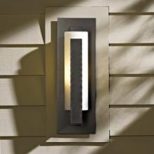 Hubbardton Forge 307285-SKT-10-HH0066 - Forged Vertical Bars Small Outdoor Sconce
