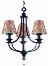 Kenroy Home 31367ORB - Belmont Outdoor Chandelier