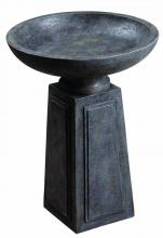 Kenroy Home 50023CON - Podium Outdoor Bird Bath