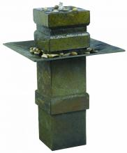 Kenroy Home 53210SL - Cubist Floor Fountain