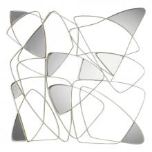 Uttermost 04054 - Uttermost Oswin Abstract Mirrored Wall Art