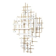 Uttermost 04128 - Uttermost Apollo Gold & Mirrored Wall Art