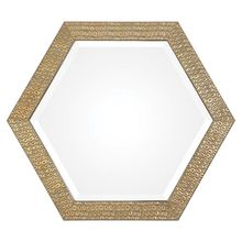 Uttermost 09327 - Uttermost Hanisha Honeycomb Gold Mirror