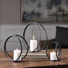Uttermost 18709 - Uttermost Pina Curved Metal Candleholders S/3