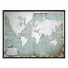 Uttermost 30400 - Uttermost Mirrored World Map