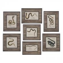 Uttermost 33637 - Uttermost Snakes Under Glass Prints S/7