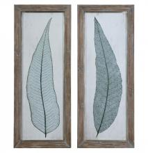 Uttermost 41514 - Uttermost Tall Leaves Framed Art Set/2