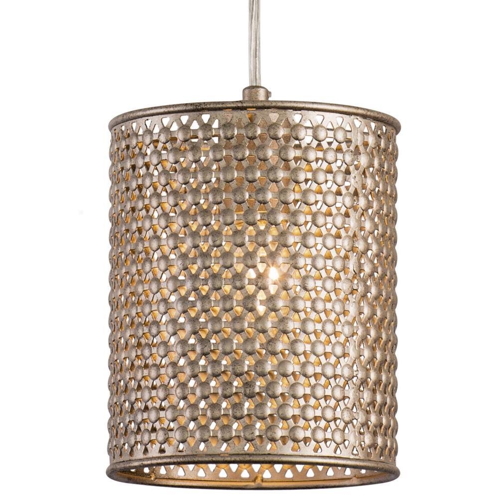 Casablanca 1-Lt Mini Pendant - Zen Gold : 244M01ZG   Light Gallery Plus