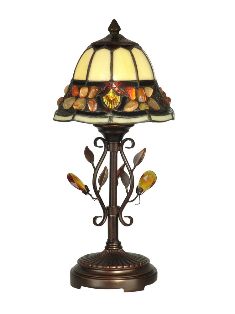 Pebble Stone Tiffany Accent Table Lamp Ta90228 Light Gallery Plus