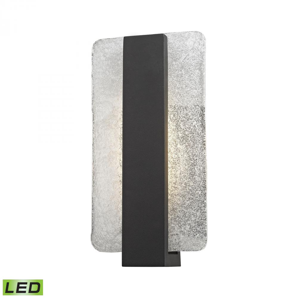 Pierre Led Outdoor Wall Sconce In Textured Matte 45230 Led Light